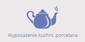 wyposażenie kuchni, porcelana